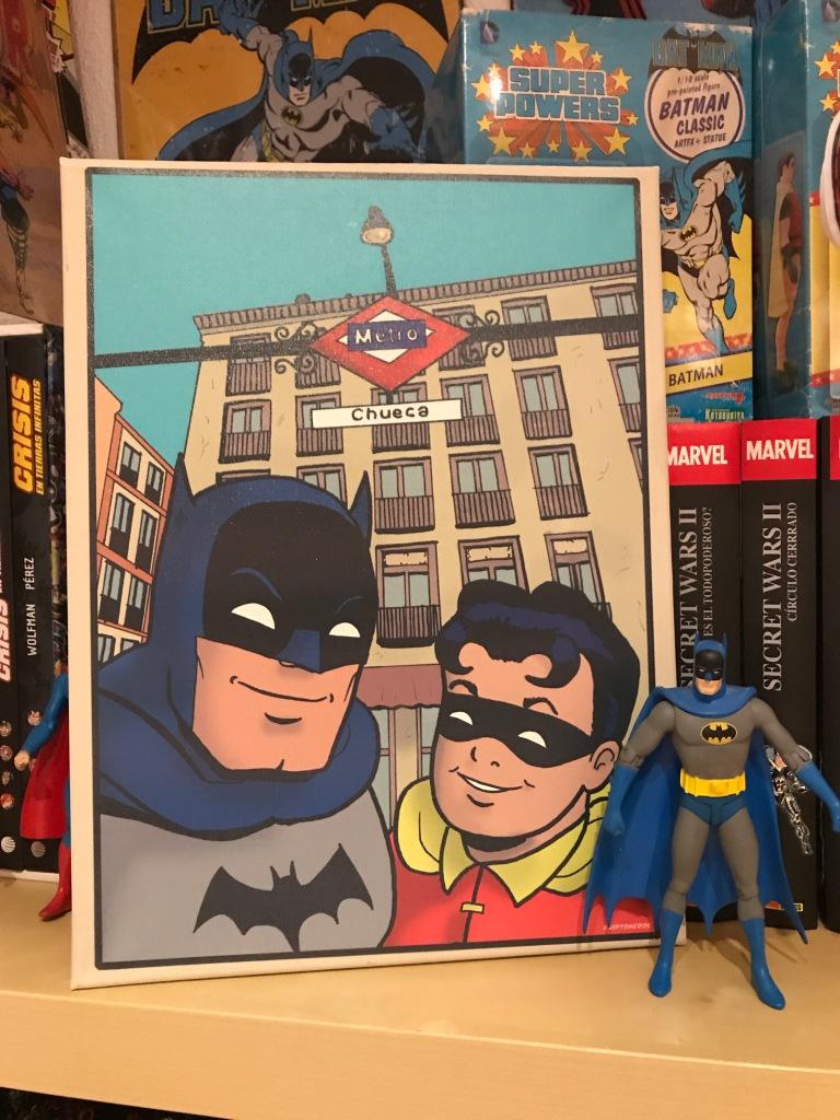 Batman & Robin en Cheuca