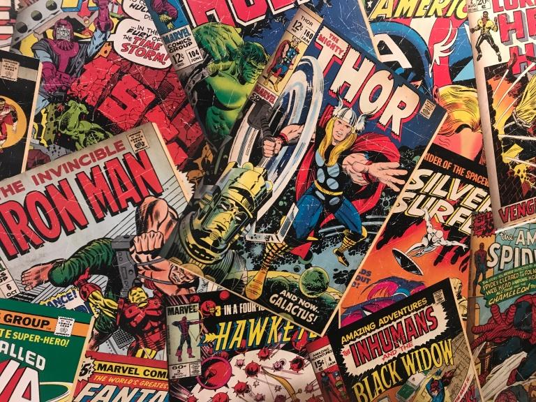 Tapete Marvel