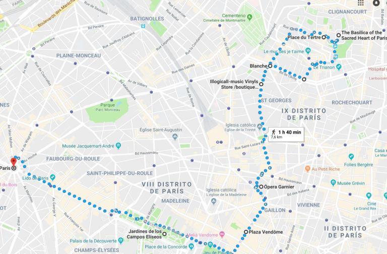 Paris vale un paseo