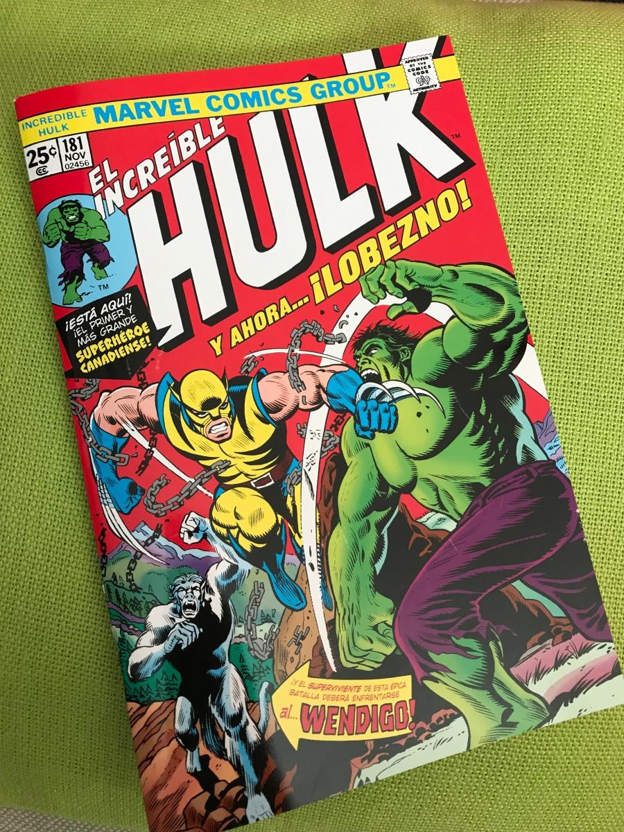 ¡Hulk!¡Lobezno!¡100% Marvel!